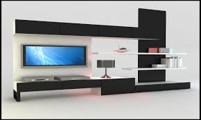 Contemporary Wall Units Living Room Classic Brown Wooden Wall Unit In Modern Living Room