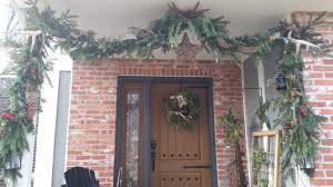 how to a fresh greens garland