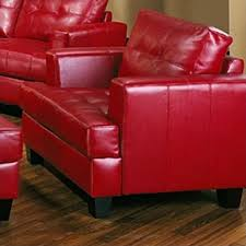 Red Club Chair Vignettes