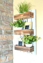 wooden wall planters appealing wall planter hanging wall planters