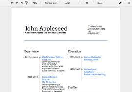 Google Docs Resume Builder Download How To Make A Resume On Google Docs