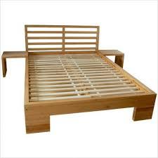 live edge bed frame interior pinterest