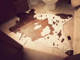cruelty free floor budget friendly diy faux cowhide rug u2013 it u0027s