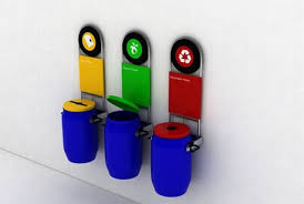 10 creative bins designed to promote recycling green diary