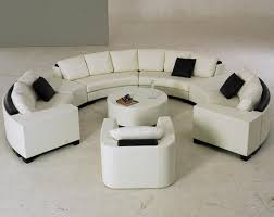 Sectional Table Circular Leather Sofa Centerfieldbar Com