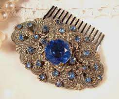 127 best hair comb images on hair ornaments vintage