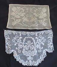 Crochet Armchair Covers Antimacassar Lace Crochet U0026 Doilies Ebay