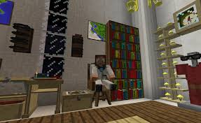 Cool Furniture In Minecraft by Seat Bibliocraft