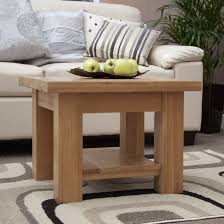torino solid oak coffee table lamp table oak furniture uk