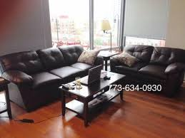 New Leather Sofas For Sale Brown Leather Sofa And Loveseat Couches Brand New Free Delivery