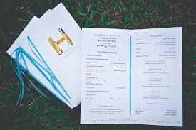 Invitation Programs Amy Forrest U0027s Modern Illustrated Wedding Invitations