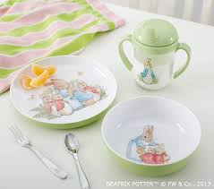 rabbit dish set baby s easter gifts