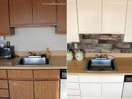 Cheap Kitchen Backsplashes Low Cost Diy Kitchen Backsplash Ideas And Tutorials Fall Home Decor