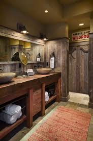 Rustic Bathroom Ideas 187 Best Rustic Bath Images On Pinterest Room Bathroom Ideas