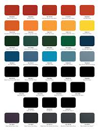 powder coat color charts mile high powder coating inc