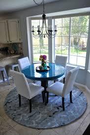 round rug for under kitchen table round kitchen table rug home design ideas