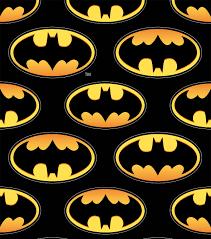 batman gift wrap batman logo unidirectional design fleece fabric joann