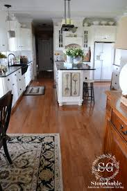 Laminate Flooring In The Kitchen Fall Around The Kitchen Stonegable