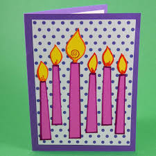 make birthday cards with photo card making idea v fold pop up