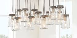 Pottery Barn Mason Jar Chandelier How To Choose The Perfect Lighting For An Entryway Pottery Barn