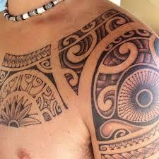 modern tribal tattoo 3 tribal shoulder tattoo on tattoochief com