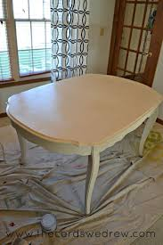 Painted Dining Table by 21 Best How To Paint A Dining Room Table Images On Pinterest