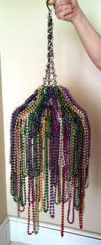 mardi gras bead chandelier wire chandelier diy diy beaded chandelier made
