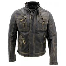 motorcycle style leather jacket biker style motorcycle cafe racer distressed leather jacket