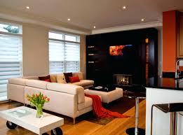 fireplace tv design ideas corner above expansive fireplace mantel
