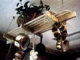 a pot rack in its proper place hgtv