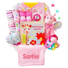 Baby Basket Gifts Hunny Bunny U0027s New Baby Gift Basket Hayneedle