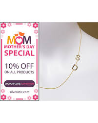 s day necklaces personalized get the deal sideways initial necklace initial necklace