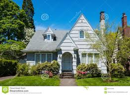 american craftsman american craftsman house with clapboard construction stock photo