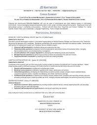 resume resume summary examples entry level resume summary