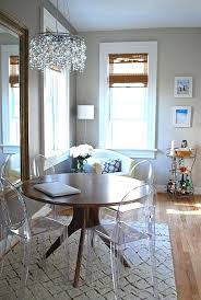 Clear Dining Room Table Clear Dining Room Table Maximize Your Space With Acrylic Furniture