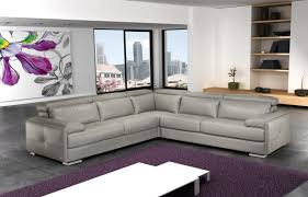 Nicoletti Leather Sofa Gary High Elastic Springs Leather Sectional By Nicoletti