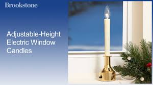 Sillite Outlet by Adjustable Height Electric Window Candles Window Lighting