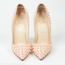 christian louboutin pigalle spikes 120 patent leather pump