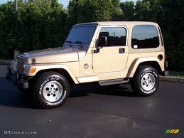 1999 desert sand pearlcoat jeep wrangler sahara 4x4 35552343