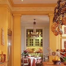 glorious golden kitchen traditional home