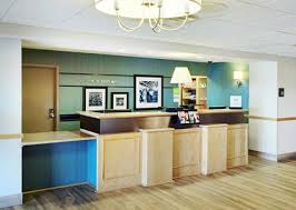 Accessible Reception Desk Hampton Inn And Suites Saint John Hotel Accessible Rooms
