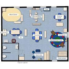 preschool floor plan template preschool class layout pinteres