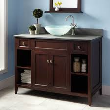 cheap bathroom vanity ideas vessel sink vanities signature hardware bathroom vanity for with
