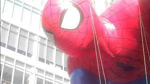 spiderman thanksgiving macy u0027s thanksgiving day parade u002712 spider man youtube
