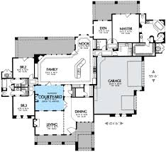 interior courtyard house plans interior courtyard 16360md architectural designs house plans