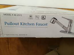 matco norco stainless steel pullout kitchen faucet model ae 2515