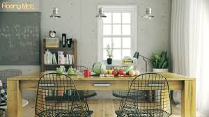 Hoang Minh Warmly Styled Nordic Kitchen Interior Design Ideas - Nordic home design