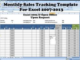 Spreadsheet For Sales Tracking by Sales Template Monthly Sales Tracking Template Direct Sales