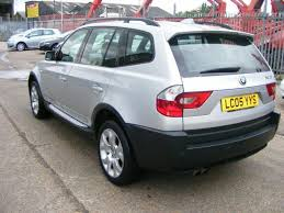 bmw x3 for sale used used 2005 bmw x3 4x4 3 0i sport 5dr auto petrol for sale in