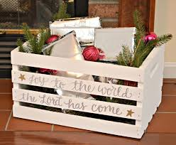 6 ways to use wooden crates this holiday season diy holiday